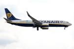 xingyeさんが、ロンドン・ガトウィック空港で撮影したライアンエア 737-8ASの航空フォト(写真)