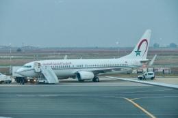 thomasYVRさんが、ムハンマド5世国際空港で撮影したロイヤル・エア・モロッコ 737-8B6の航空フォト(飛行機 写真・画像)