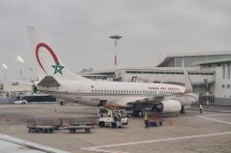 thomasYVRさんが、ムハンマド5世国際空港で撮影したロイヤル・エア・モロッコ 737-7B6の航空フォト(飛行機 写真・画像)
