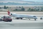 とおまわりさんが、マドリード・バラハス国際空港で撮影したエア・ノーストラム CL-600-2E25 Regional Jet CRJ-1000の航空フォト(写真)