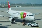とおまわりさんが、フランシスコ・サ・カルネイロ空港で撮影したTAPポルトガル航空 A319-112の航空フォト(写真)