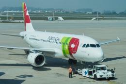 thomasYVRさんが、フランシスコ・サ・カルネイロ空港で撮影したTAPポルトガル航空 A319-112の航空フォト(飛行機 写真・画像)