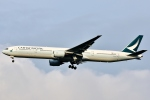 SKY TEAM B-6053さんが、成田国際空港で撮影したキャセイパシフィック航空 777-31Hの航空フォト(写真)