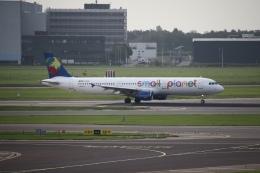 航空フォト:D-ASPD スモール・プラネット・エアラインズ・ジャーマニー A321
