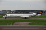 sky-spotterさんが、アムステルダム・スキポール国際空港で撮影したルフトハンザ・シティライン CL-600-2D24 Regional Jet CRJ-900LRの航空フォト(写真)