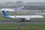 とらとらさんが、羽田空港で撮影したガルーダ・インドネシア航空 A330-343Xの航空フォト(飛行機 写真・画像)