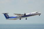 ちゃぽんさんが、中部国際空港で撮影したANAウイングス DHC-8-402Q Dash 8の航空フォト(飛行機 写真・画像)