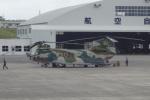 cassiopeiaさんが、那覇空港で撮影した航空自衛隊 CH-47J/LRの航空フォト(写真)