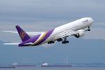yabyanさんが、中部国際空港で撮影したタイ国際航空 777-3D7/ERの航空フォト(写真)