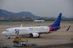 JA8037さんが、杭州蕭山国際空港で撮影したスリウィジャヤ航空 737-85Pの航空フォト(写真)