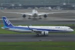 とらとらさんが、羽田空港で撮影した全日空 A321-272Nの航空フォト(写真)