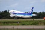 もぐ3さんが、小松空港で撮影したANAウイングス 737-54Kの航空フォト(飛行機 写真・画像)