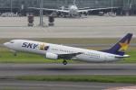 小牛田薫さんが、羽田空港で撮影したスカイマーク 737-86Nの航空フォト(写真)