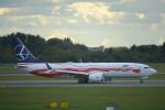taiki17さんが、ワルシャワ・フレデリック・ショパン空港で撮影したLOTポーランド航空 737-8-MAXの航空フォト(写真)
