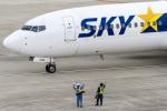 ShiShiMaRu83さんが、神戸空港で撮影したスカイマーク 737-86Nの航空フォト(飛行機 写真・画像)