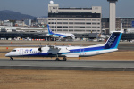 RUNWAY23.TADAさんが、伊丹空港で撮影したANAウイングス DHC-8-402Q Dash 8の航空フォト(飛行機 写真・画像)