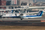RUNWAY23.TADAさんが、伊丹空港で撮影したANAウイングス DHC-8-402Q Dash 8の航空フォト(写真)