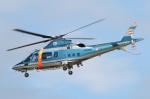 なごやんさんが、名古屋飛行場で撮影した三重県警察 A109E Powerの航空フォト(写真)