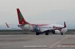 ハピネスさんが、関西国際空港で撮影したティーウェイ航空 737-8HXの航空フォト(写真)