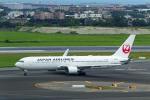 delawakaさんが、台湾桃園国際空港で撮影した日本航空 767-346/ERの航空フォト(写真)