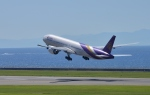 subtakaさんが、中部国際空港で撮影したタイ国際航空 777-3D7/ERの航空フォト(写真)