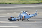 ja0hleさんが、名古屋飛行場で撮影した三重県警察 A109E Powerの航空フォト(写真)
