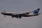 木人さんが、成田国際空港で撮影したユナイテッド航空 747-422の航空フォト(写真)