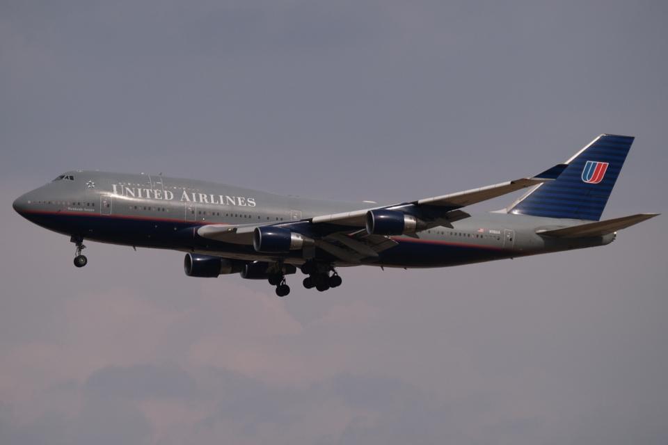 木人さんのユナイテッド航空 Boeing 747-400 (N116UA) 航空フォト