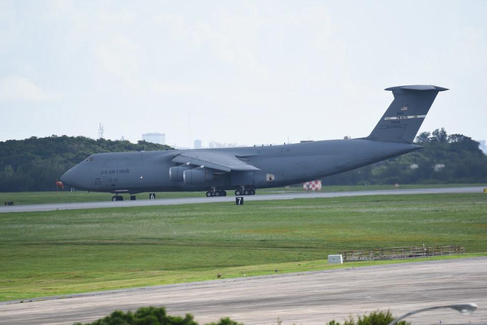 kumagorouさんのアメリカ空軍 Lockheed C-5 Galaxy (87-0034) 航空フォト