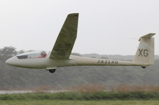 MOR1(新アカウント)さんが、吉井川邑久滑空場で撮影した日本個人所有 LS4-aの航空フォト(飛行機 写真・画像)