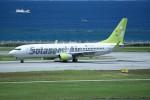 kumagorouさんが、那覇空港で撮影したソラシド エア 737-86Nの航空フォト(飛行機 写真・画像)