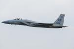 Tomo-Papaさんが、フェアフォード空軍基地で撮影したアメリカ空軍 F-15C-42-MC Eagleの航空フォト(写真)