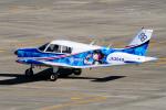 yabyanさんが、名古屋飛行場で撮影した日本法人所有 PA-28-140 Cherokeeの航空フォト(飛行機 写真・画像)