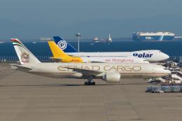 ストロベリーさんが、中部国際空港で撮影したエティハド航空 777-FFXの航空フォト(飛行機 写真・画像)