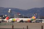 元青森人さんが、仙台空港で撮影したスカイネットアジア航空 737-43Qの航空フォト(写真)