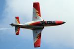 AkiChup0nさんが、フェアフォード空軍基地で撮影したスペイン空軍 C-101EB Aviojetの航空フォト(写真)