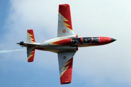 AkiChup0nさんが、フェアフォード空軍基地で撮影したスペイン空軍 C-101EB Aviojetの航空フォト(飛行機 写真・画像)