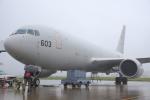 武彩航空公司(むさいえあ)さんが、横田基地で撮影した航空自衛隊 KC-767J (767-2FK/ER)の航空フォト(写真)