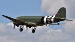 PaveHawk_Golfさんが、フェアフォード空軍基地で撮影したIWM Duxford C-47A Skytrainの航空フォト(写真)