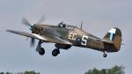 PaveHawk_Golfさんが、フェアフォード空軍基地で撮影したIWM Duxford Hurricane Mk2Cの航空フォト(写真)