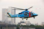 まいけるさんが、立川飛行場で撮影した警視庁 AW139の航空フォト(写真)
