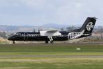 aya01fltさんが、タウランガ空港で撮影したエア・ネルソン DHC-8-311Q Dash 8の航空フォト(写真)