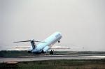 LEVEL789さんが、広島西飛行場で撮影した大韓航空 MD-82 (DC-9-82)の航空フォト(写真)
