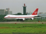 エルさんが、成田国際空港で撮影したヴァージン・アトランティック航空 747-212Bの航空フォト(写真)