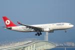 セブンさんが、関西国際空港で撮影したターキッシュ・エアラインズ A330-203の航空フォト(飛行機 写真・画像)