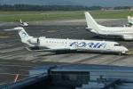 NIKEさんが、リュブリャナ空港で撮影したアドリア航空 CL-600-2D24 Regional Jet CRJ-900の航空フォト(写真)