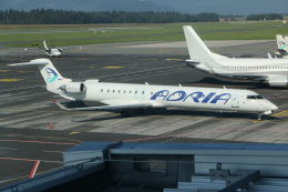 NIKEさんが、リュブリャナ空港で撮影したアドリア航空 CL-600-2D24 Regional Jet CRJ-900の航空フォト(飛行機 写真・画像)