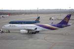 セブンさんが、中部国際空港で撮影したタイ国際航空 A330-343Xの航空フォト(写真)