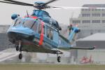 aya01fltさんが、立川飛行場で撮影した警視庁 AW139の航空フォト(写真)