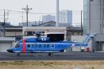 kaeru6006さんが、東京ヘリポートで撮影した警視庁 S-92Aの航空フォト(写真)